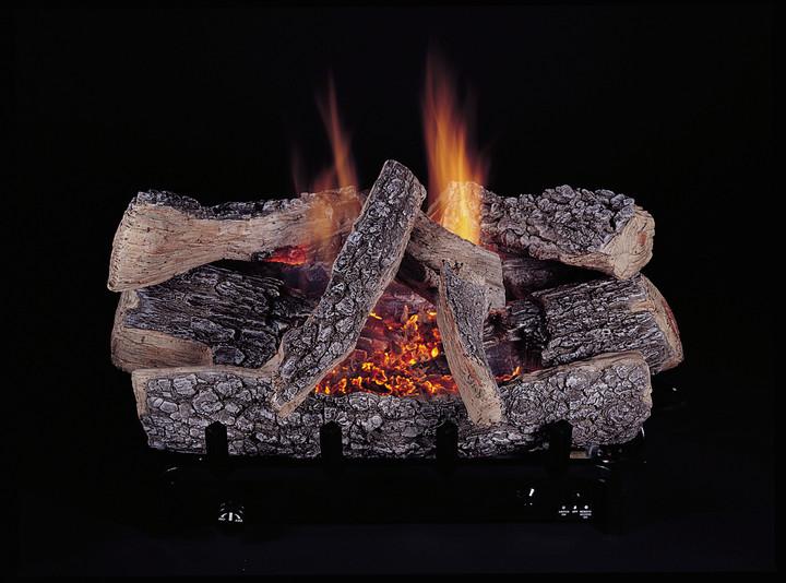 "18"" Evening Embers C5-Triple Natural Gas Burner Set"