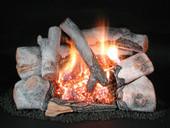 "Rasmussen Chillbuster 30"" Birch Vent Free Logs"