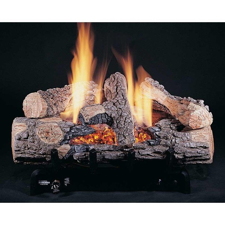 """HH 30"""" Evening Embers, 8-Piece, Bark/Split, Vent Free, Logs Only"""