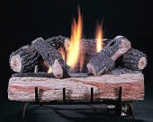 KW 24-in Evening Embers, 6-Piece, Vent Free, Logs Only