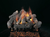 "Rasmussen Bonfire 30"" Double Face Gas Logs"