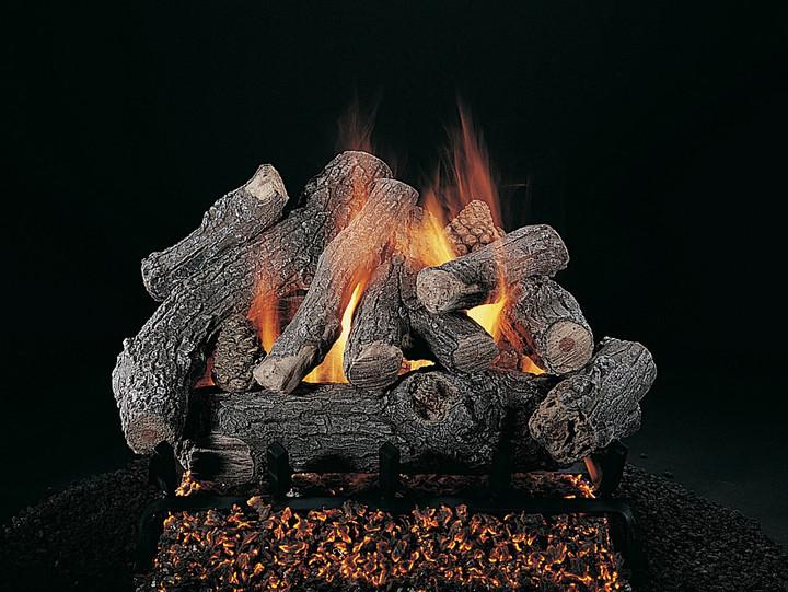 "Rasmussen Bonfire 42"" Double Face Gas Logs"