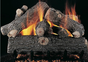 "Rasmussen 18"" Prestige Oak Single Face Gas Logs Only"