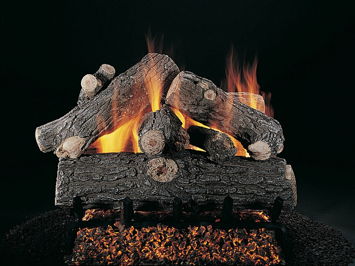 """Rasmussen 18"""" Prestige Oak Double Face Gas Logs Only"""