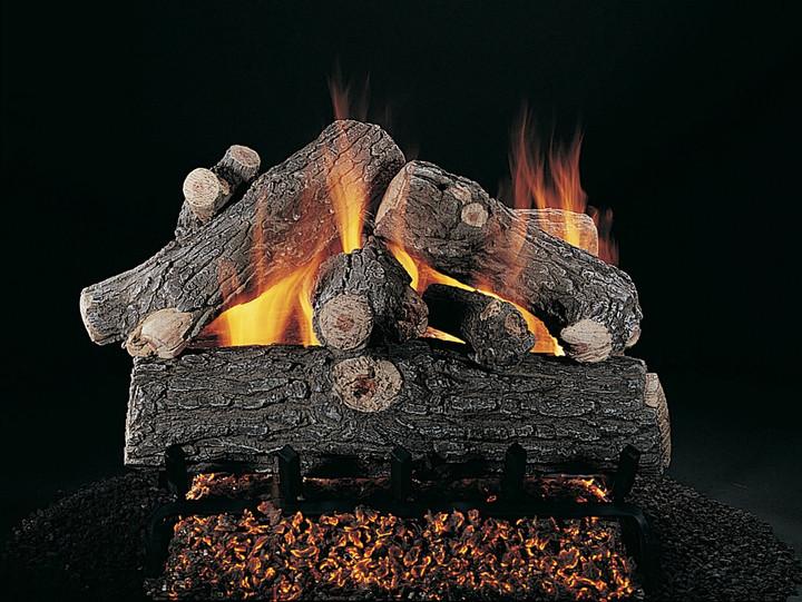 """Rasmussen 24"""" Prestige Oak Double Face Gas Logs Only"""