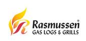 "Rasmussen 24"" Black Fire Pit Double Ring Burner"