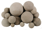 Massive FireBalls | Beige | 18-Inch | 8-Pieces