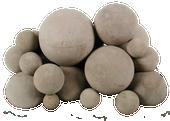Mixed Fireballs   Natural   36-Inch   46-Pieces