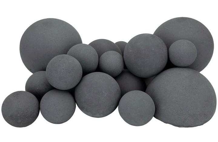 "Rasmussen Mixed Fireballs 24""   Dark Gray"