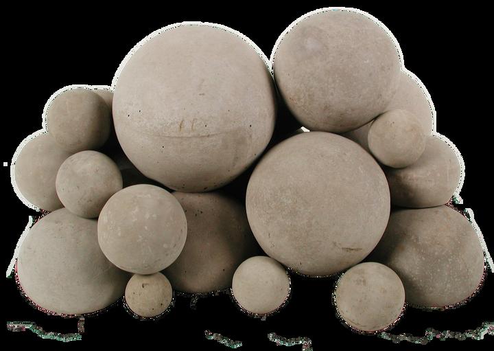 Rasmussen 18 inch Mixed Fireballs | White