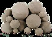 Mixed Fireballs   White   18-Inch   17-Pieces