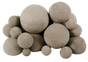 "Rasmussen Mixed Fireballs 48"" | White"