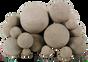 Rasmussen Mixed Fireballs | Adobe Red | 48-Inch | 59-Pieces