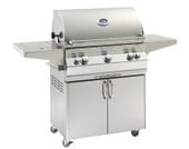 Fire Magic Aurora 540s All Infrared Grill On Cart