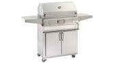 "Firemagic 30"" Charcoal Grill on Cart"
