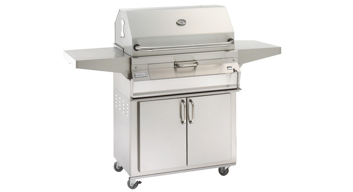 """Firemagic 30"""" Charcoal Grill on Cart"""