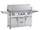Fire Magic Echelon 1060s Grill On Cart, Single Side Burner