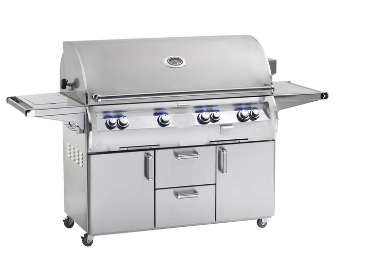 Echelon 1060s Grill On Cart with Single Side Burner