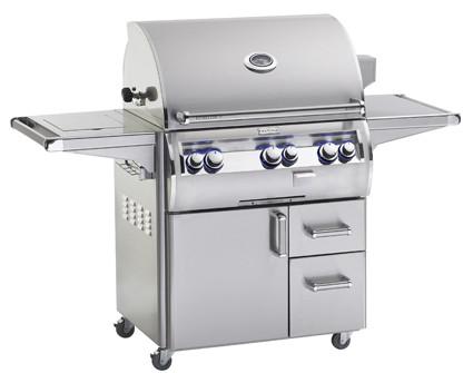 """Fire Magic Echelon """"A"""" E660s Portable Grill w Double Side Burner"""