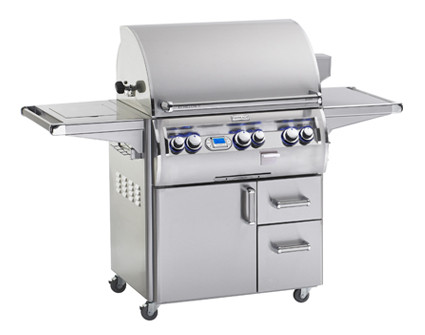 Fire Magic Echelon 660s Grill On Cart w Single Side Burner