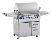 Fire Magic Echelon 660S Portable Grill, Dbl Side Burner