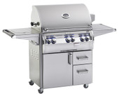 Echelon 790S, All Stainless Burners On Cart