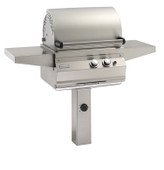 Firemagic Legacy Deluxe Grill on In-Ground Post