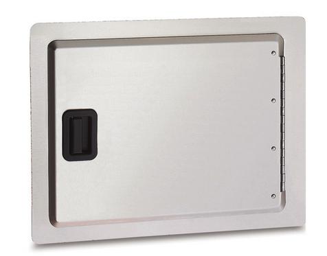 Horizontal Single Access Door with Black Latch Handle