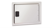 horizontal built-in access door