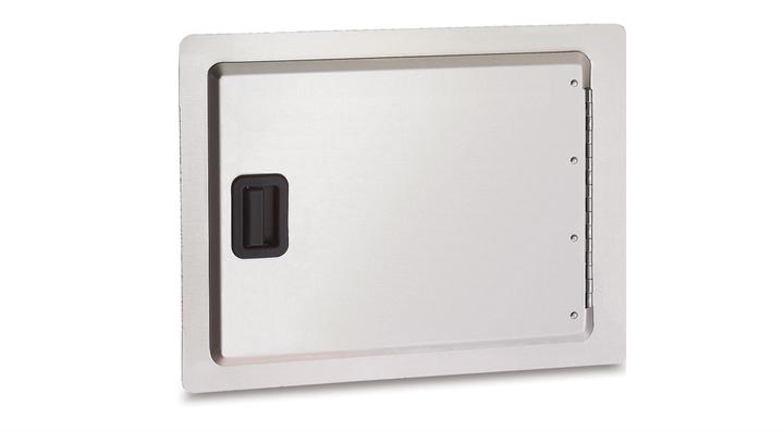 horizontal built-in access door
