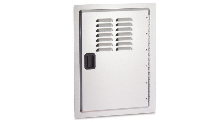 aog built-in door with louvers