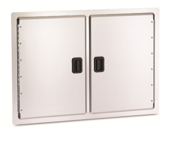 AOG Storage Double Door with Black Latch Handles