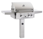 AOG Gas Grill on Post