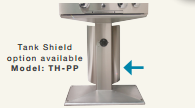 AOG LP Tank Shield for Patio Post Grill