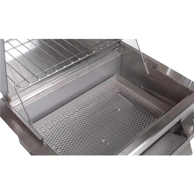 Fire Magic Charcoal Pan with Screen Stainless Steel