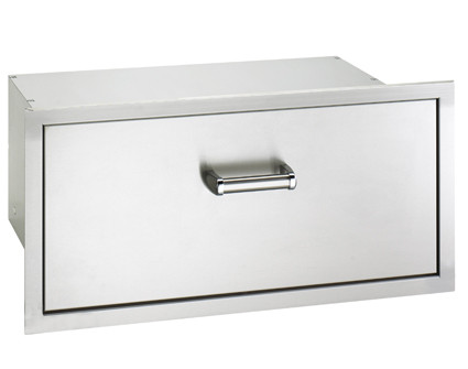 fire magic soft close single drawer