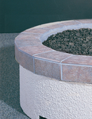 "American Fyre 34"" Granite Tile Ring"