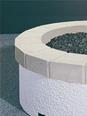 """34"""" Plain Concrete Top Ring"""