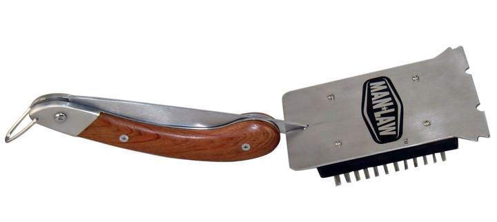 Man Law Foldable BBQ Brush