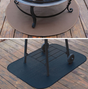 Black Rectangular Grill Mat