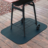 36in round deck and patio mat