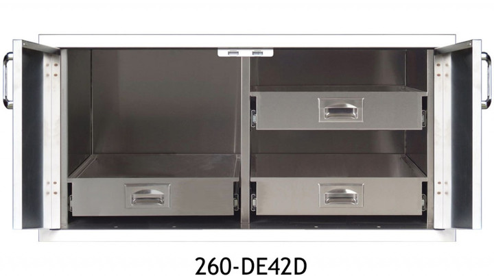 "260 Series 42"" Pantry with Double Doors"