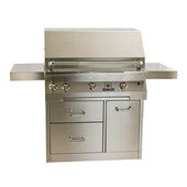 "Solaire SOL-IRBQ-36CIR 36"" Infrared Grill on Cart"