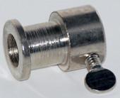 Bushing for rotisserie spit rod