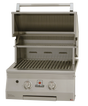Solaire grill with hood open