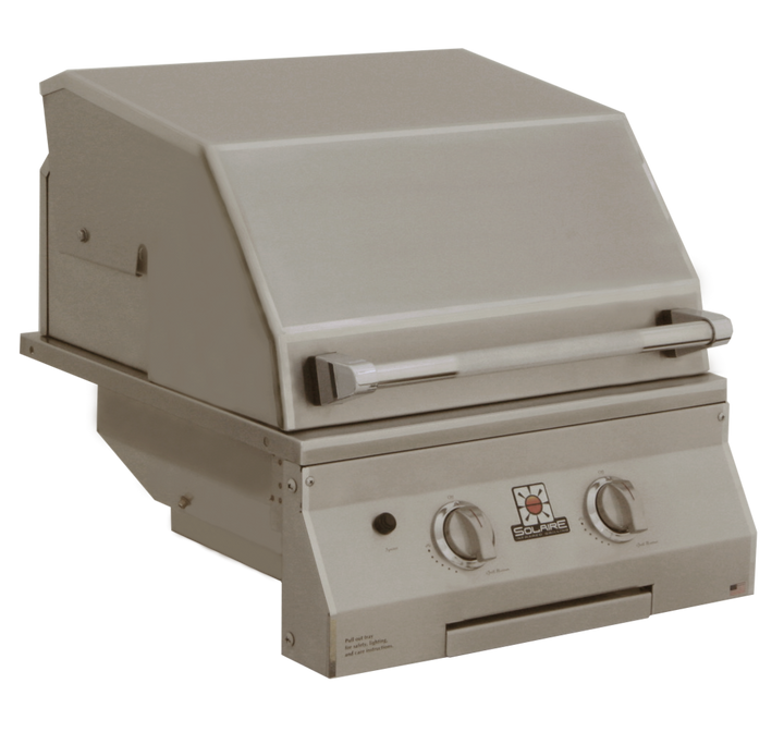 """Solaire 21"""" IRBQ Deluxe Convection Built-In Grill"""