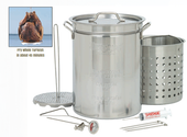 turkey fryer and accessories