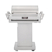 """G-Sport FR 36"""" with Stainless Pedestal & Warming Rack"""