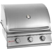 "Blaze 25"" 3 Burner Built-in Gas Grill"