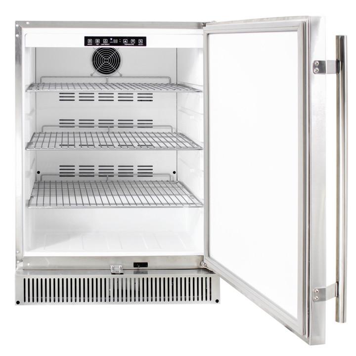 Inside view of refrigerator